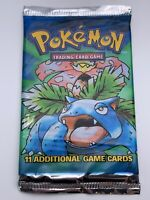 Pokemon💎Venusaur Base set Booster Pack💎Sealed 1999 1st set🌟WOTC🌟20.7g Heavy?