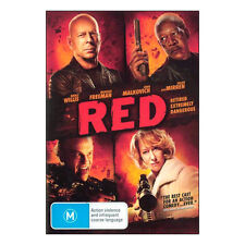 Red   DVD  Brand New Aus Region 4 - Bruce Willis, Helen Mirren, John Malkovich