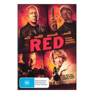 Red DVD Brand New Region 4 Bruce Willis, Helen Mirren, John Malkovich Free Post