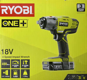 Ryobi One+ 18V 3 Speed Impact Wrench R18IW3-120S