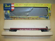 1956 Revell Soo Line Flat Car #4032 in Box with Diecast Sprung Trucks T4035