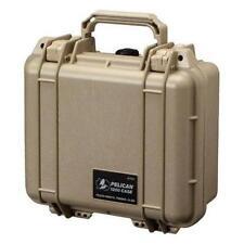 New! Pelican 1200 Case Desert Tan Watertight, Crushproof, Dustproof 1200-000-190