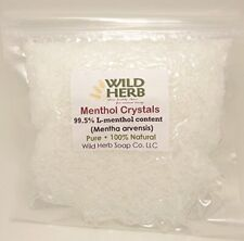 Wild Herb Natural Menthol Crystals With Strong Minty Aroma - 8 Oz Topselling