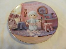 You Have Touched So Many Hearts Precious Moments Collector Plate Sam Butcher (H1