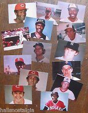14 circa 1975 Wallet Sized Kodak Baseball Photos: Brett,Seaver,Winfield,Lynn,etc