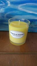 Lemon Meringue Scented Candle, Oxford Clear Container.