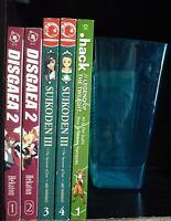 Video Game Manga Lot C, Lot of 5 Shonen Manga, Disgaea 2, Suikoden III