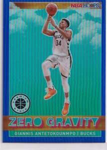 Panini NBA Hoops Premium 2019-20 Zero Gravity Antetokounmpo Parallelo Blu