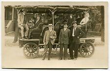 """1913 Vintage SLC Postcard: """"OBSERVATION CAR EN ROUTE TO CALIFORNIA"""""""