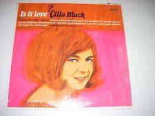 CILLA BLACK Is It Love? LP Capitol T 2308 designate promo NM Mono