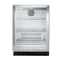 Summit SCR2464 One Door Beverage Merchandiser, 4.86 cu. ft.