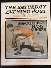 Illustrated  Saturday Evening Post June 18, 1904 J. J. Gould Sport Cover Art
