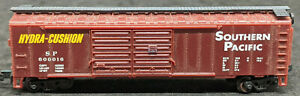 Life-Like: Southern Pacific SP #600016 Double Door Boxcar Vintage N SCALE, Brown