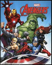 AUSTRALIA  2015 MARVEL THE AVENGERS SET OF TWO PERSONALIZED SHEETS IN FOLDER