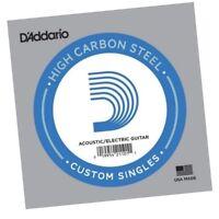 D'Addario PL017  single plain steel Electric / Acoustic Guitar string Gauge 17