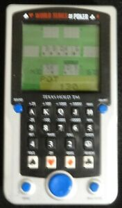 Electronic Hand Held game World Series of Poker Texas Hold'em