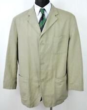 CAMEL ACTIVE Men's Casual Cotton Linen Blazer Beige UK 44S Jacket Coat Eur 54S