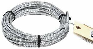 WARN Winch Replacement Cable 5/32 x 50 Replacement Part Wire Rope 1500 69336