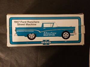 Eastwood Automobilia 1957 Ford Ranchero Street Machine Bank 1/25 Scale NIB