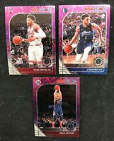 2019-20 Panini Hoops Premium Stock Purple Disco Prizm U-Pick - $2 Shipping