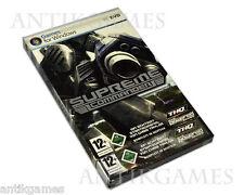 Supreme Commander (PC, 2007, DVD-box) nuevo