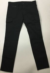 "Diesel Men 31"" Chi Thommer Cargo Pants $178 Black Size 30"