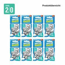 """Lieblingsköder """"Spitze Haken"""" 2/0 Jigkopf Haken für 7,5 cm Gummiköder"""