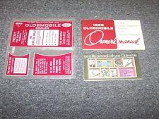 1969 Oldsmobile 442 Original Owner Owner's Operator User Guide Manual Book Set