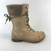 Clarks Brown Leather Ankle Lace Up Boho Hippies Booties Boots Size UK4 D