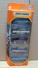 Konvolut Matchbox MBX Wagons 5 Stk Modellautos Audi Ford Oldsmobile Chevy in OVP