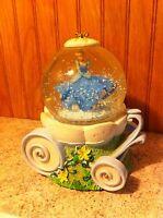 Disney Cinderella Musical Water Globe Snow Globe By Sankyo