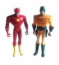 "DC Comics ANIMATA JUSTICE LEAGUE Flash V mirrormaster 5"" toy figure JLA RARO"