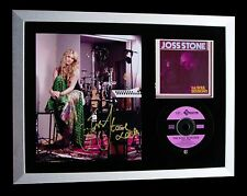JOSS STONE+SIGNED+FRAMED+SOUL SESSIONS+LOVE BOY=100% AUTHENTIC+FAST+GLOBAL SHIP