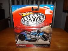 HOT WHEELS MOTOR CYCLES, FERENZO 1:18 SCALE, NEW IN PACKAGE, 2012