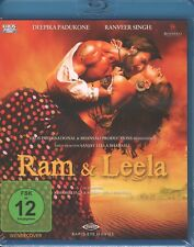 RAM & LEELA - Bollywood Film Blu-ray mit Deepika Padukone und Ranveer Singh