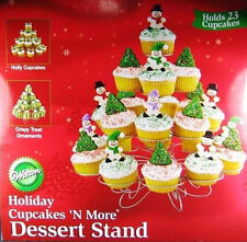 Holiday Christmas Cupcakes N More Cupcake Stand from Wilton 868 - NEW