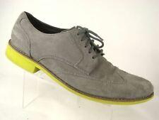 Cole Haan Wing tip Suede Oxford Foam Sole Us 11.5 M EU 44.5 Men Leather Gray