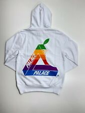 PALACE JOBSWORTH HOODIE WHITE SIZE SMALL BRAND NEW SOLD OUT