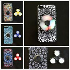 Finger Hand Spinner Fidget Toy Embedded Phone Case Cover for iPhone6/6S/7/7 Plus