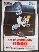 DER KÖRPER MEINES FEINDES - Filmplakat A1 - Jean-Paul Belmondo