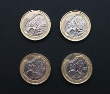 Set of Commonwealth Games 2002 £2 Two Pound - England,Scotland,Wales,N Ireland