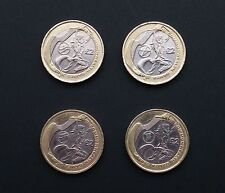 Commonwealth Games 2002 £2 Two Pound - Full Set Of 4 Coins