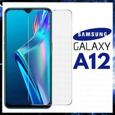 For SAMSUNG GALAXY A12 FULL COVER TEMPERED GLASS SCREEN PROTECTOR GENUINE GUARD