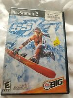 SSX 3 (Sony PlayStation 2, 2003) PS2 Black Label Video Game Complete CIB Tested