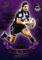 ✺Mint✺ 2009 MELBOURNE STORM NRL Premiers Card BILLY SLATER