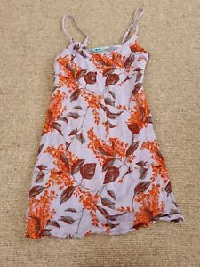Urban Outfitters Kimchi Blue Purple Floral Cami Dress Size XS