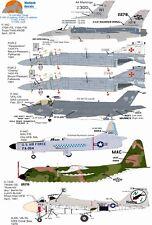 Wolfpak Decals 72-108 Wild Things F-16 FGR.2, F-35C, F-94C, C-130E, A-6A, Decals