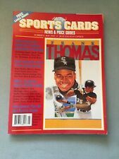 ALLAN KAYE'S SPORTS CARDS.#6 MAY1992.  18 SPORTS CARDS INSIDE, ORIGINAL OWNER