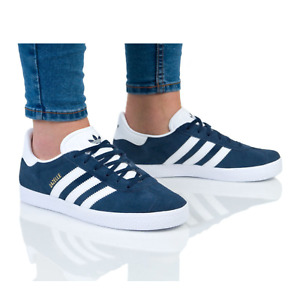 Adidas Originals Gazelle  Navy BY9144 Women's Trainers Suede Casual Shoes