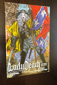 LADY DEATH #4 (Boundless 2011) -- ALTERNATE HISTORY VARIANT -- NM- Or Better